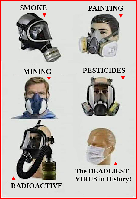 Edification on Respirators/Masks