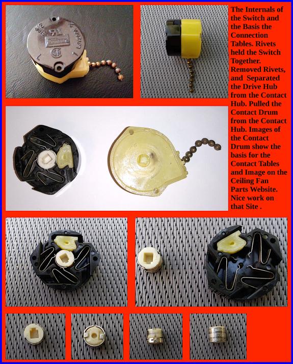 3 Speed Fan Chain Pull Switch
