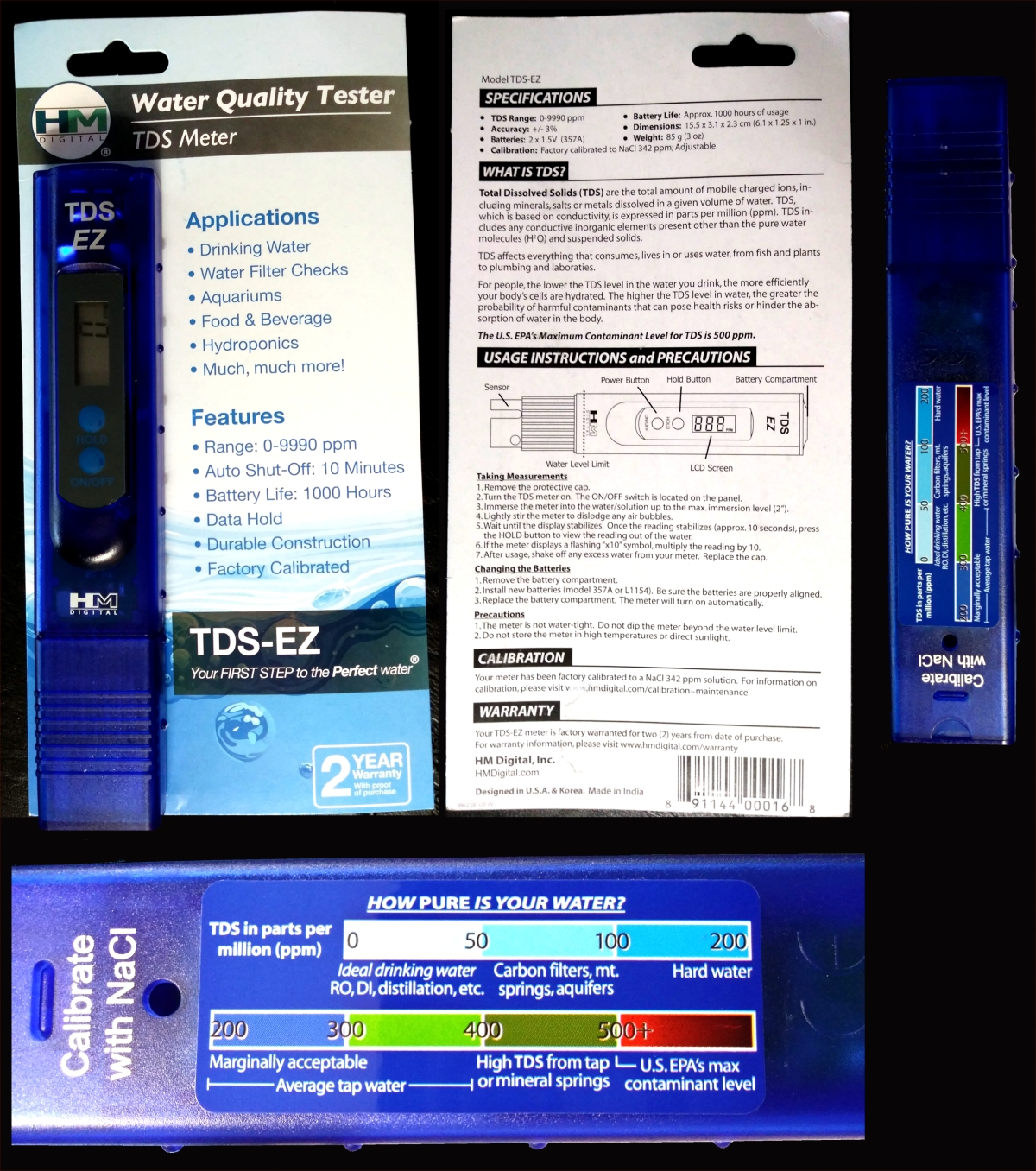 Measuring TDS in Drinking Water (Total DissolvedSolids)