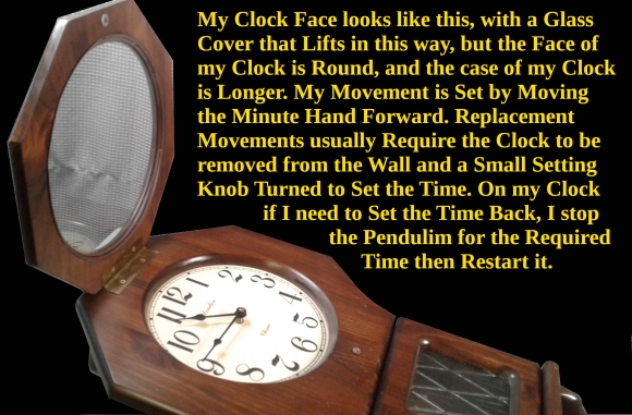 Clock Style Lifting Cover
